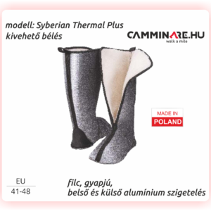 Camminare - Syberian Thermal Plus EVA csizma bélés